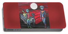 Alien Superheros Portable Battery Charger by Similar Alien