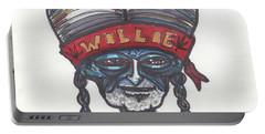 alien Willie Nelson Portable Battery Charger