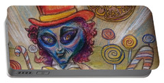 Alien Wonka And The Chocolate Factory Portable Battery Charger