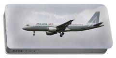 Alitalia Airbus 320 Portable Battery Charger