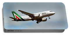 Alitalia Airbus A319-112 Portable Battery Charger