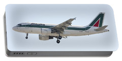 Alitalia Airbus A319 Portable Battery Charger