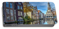 Alkmaar From The Bridge Portable Battery Charger by Frans Blok