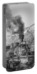 Portable Battery Charger featuring the photograph All Aboard by Colleen Coccia
