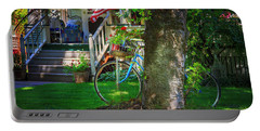 All American Summer Bicycle Portable Battery Charger by Craig J Satterlee