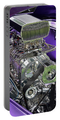 All Chromed Engine With Blower Portable Battery Charger
