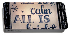 All Is Calm Portable Battery Charger