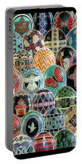 All Ostrich Eggs Collage Portable Battery Charger