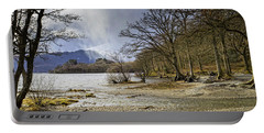 Portable Battery Charger featuring the photograph All Seasons At Loch Lomond by Jeremy Lavender Photography