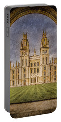 Oxford, England - All Soul's Portable Battery Charger