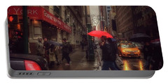 All That Jazz. New York In The Rain. Portable Battery Charger