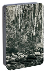 Portable Battery Charger featuring the photograph All Was Tranquil by Linda Lees