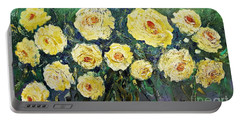 All Yellow Roses Portable Battery Charger