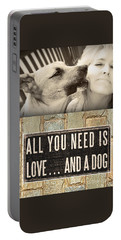 All You Need Is A Dog Portable Battery Charger