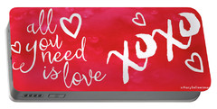 All You Need Is Love I Portable Battery Charger