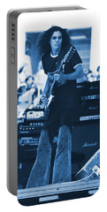 Allen Collins In Blue Oakland 1975 Portable Battery Charger