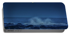Portable Battery Charger featuring the photograph Allenhurt Beach by Raymond Salani III