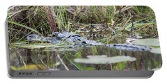 Alligator And Hatchling Portable Battery Charger
