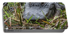 Alligator Closeup-0642 Portable Battery Charger