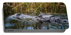Alligator Closeup1-0600 Portable Battery Charger