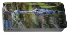 Alligator Swims-1-0599 Portable Battery Charger