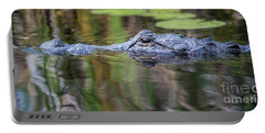 Alligator Swims-2-0599 Portable Battery Charger