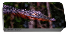 Alligator Waiting 003 Portable Battery Charger
