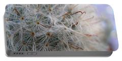 Portable Battery Charger featuring the photograph Allium Sativum by Jolanta Anna Karolska