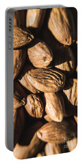 Portable Battery Charger featuring the photograph Almond Nuts by Jorgo Photography - Wall Art Gallery
