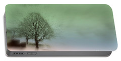 Portable Battery Charger featuring the photograph Almost A Dream - Winter In Switzerland by Susanne Van Hulst