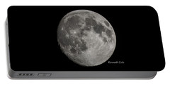 Almost Full Moon Portable Battery Charger
