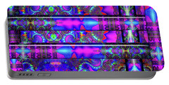 Portable Battery Charger featuring the digital art Almost Home by Robert Orinski