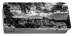 Alnwick Castle And Fallow Deer Portable Battery Charger