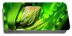 Portable Battery Charger featuring the photograph Aloe Vera 666 by Kevin Chippindall