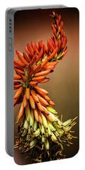 Portable Battery Charger featuring the photograph Aloe Vera Twist  by Saija Lehtonen
