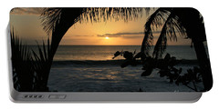 Aloha Aina The Beloved Land - Sunset Kamaole Beach Kihei Maui Hawaii Portable Battery Charger