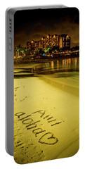 Ami Aloha Aulani Disney Resort And Spa Hawaii Collection Art Portable Battery Charger
