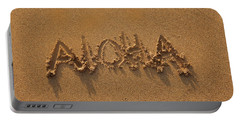 Aloha In The Sand Portable Battery Charger