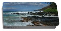 Aloha Island Dreams Paako Beach Makena Secret Cove Hawaii Portable Battery Charger