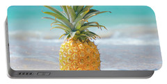 Portable Battery Charger featuring the photograph Aloha Pineapple Beach by Sharon Mau