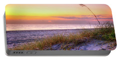 Portable Battery Charger featuring the photograph Alone At Dawn by Debra and Dave Vanderlaan
