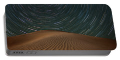 Portable Battery Charger featuring the photograph Alone On The Dunes by Darren White