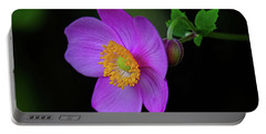 Anenome Purple Portable Battery Charger