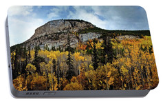 Portable Battery Charger featuring the photograph Along The Alaskan Highway 1 by Marty Koch