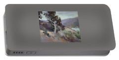 Along The Shore - Plein Air  Catalina Island Portable Battery Charger