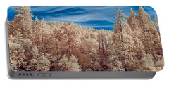 Along The Smith River In Infrared Portable Battery Charger