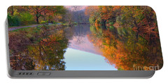 Along These Autumn Days Portable Battery Charger