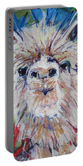 Alpaca Crazed Portable Battery Charger