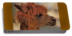 Alpaca Portrait Portable Battery Charger