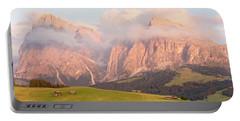 Alpe Di Suisi Sunset Panorama Portable Battery Charger